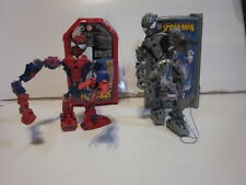 3 THE AMAZING SPIDERMAN CHILDREN'S TOYS 2 MEGA BLOKS YOU BUILT THEM FIGURES
