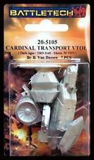 BattleTech Miniatures D.A Cardinal Transport VTOL Iron Wind Metals IWM 20-5105