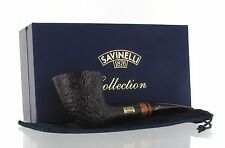 Savinelli Collection - Pipe of The Year 2016 Dublin Sandblasted Made in Italy