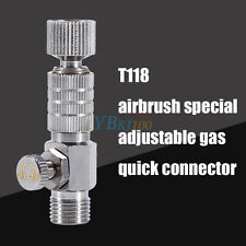 "Airbrush Quick Release Coupling Disconnect Adapter 1/8"" Fitting Fitting Easy Use"