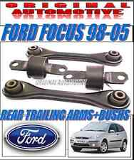 FITS FORD FOCUS 98-05 MKI REAR TRAILING ARMS & REAR SUSPENSION BUSH KIT