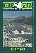 80 DALES WALKS - A COMPREHENSIVE WALKING GUIDE TO THE YORKSHIRE DALES H/B - VGC