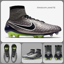 Sz 7.5 Nike Magista Obra FG Ankle Sock Football Boots Firm Ground Made In Italy