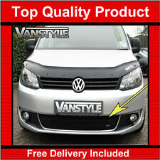 VW CADDY 10-15 FRONT GRILLE BLACK STAINLESS STEEL MESH ZUNSPORT GRILL LOWER VAN