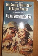 The Man Who Would Be King ~ Sean Connery Michael Caine Christopher Plummer VHS
