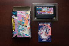 FAMICOM FC Dragon Quest Warrior I 1 Boxed Japan games US Seller