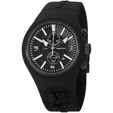 Momo Design Men's Mirage Black Chronograph Dial Quartz Watch MD1009BK-06BKWT-RB