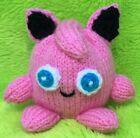 KNITTING PATTERN - Jigglypuff inspired choc orange cover or 9 cms Pokemon toy