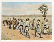 Prisoners English southwest Africa Deutsches Heer WWI WELTKRIEG 14/18 CHROMO