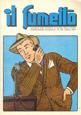 Rivista IL FUMETTO  n° 25 del 1977  ANAF  Galeppini