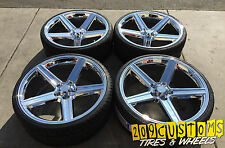"22"" CHROME IROC WHEELS & TIRES 5X115 CHARGER CHALLENGER MAGNUM CHRYSLER 300"