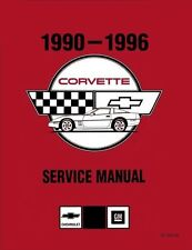 1990 - 1996 CORVETTE C4 TECHNICAL WORKSHOP / REPAIR / SERVICE MANUAL CD