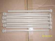 "10 X 12"" PLASTIC POLYMER TWIST ON PERCHES FOR CAGE & AVIARY BIRDS"