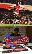 THIERRY HENRY SIGNED ARSENAL 16x20 PHOTO WITH PROOF & COA ALLSTARS EXCLUSIVE