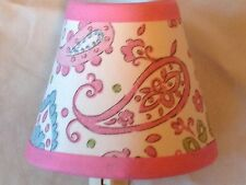 Pink Brooklyn Girl's Fabric Night Light M2M Pottery Barn Kids Bedding