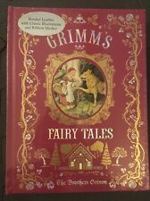 Grimm's Fairy Tales Leather Book New & Sealed