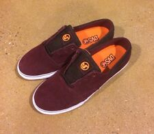 DVS Torey 2 Size 12 Burgundy Suede Torey Pudwill BMX DC Skate Shoes Sneakers