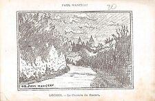 BR73061 loches le chemin du rocart paul manceau painting postcard    france