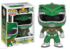 "POWER RANGERS - VERDE RANGER 3.75"" POP TV FIGURA DE VINILO FUNKO"