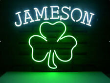 Bud Light Shamrock Beer Pub Bar Neon Sign 20''x16'' Q194M