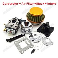 Racing Carburetor Air Filter Stack For 47cc 49 cc Pocket Dirt Bike Mini Moto ATV