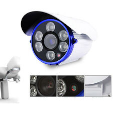 Waterproof CMOS HD 1300TVL 6LED 16MM CCTV Home security camera outdoor DAY NIGHT