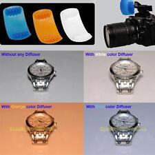 New 3 Color Pop-up Flash Diffuser For Nikon D7000 D80 D60 D5100 D5000 D3100