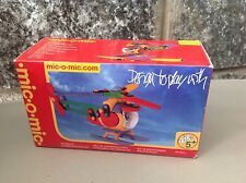 Mic-O-Mic Elicottero Helicopter  Kit By Schafer Toy Germany #Nib