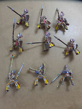 Rare Warhammer High Elf 9 x Ellyrian Reavers Classic Metal Mid 90s - RIDERS ONLY