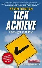 Tick Achieve: How to Get Stuff Done-ExLibrary