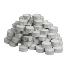 Ikea GLIMMA 100 White Unscented 38mm Tea Lights candles tealights, No p&p