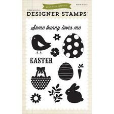 "Echo Park ""Some Bunny Loves Me"" Clear Stamps! Easter"