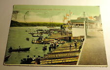 Color Postcard Arm Rowing Club in Halifax, Nova Scotia, Canada 1928 Postmark