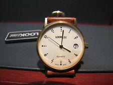 LOOK TIME SWISS OROLOGIO LAMINATO ORO  QUARZO  NUOVO, FONDO DI MAGAZZINO NOS