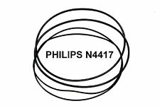 COURROIES SET PHILIPS N4417 MAGNETOPHONE A BANDE EXTRA FORT NEUF FABRIQUE N 4417