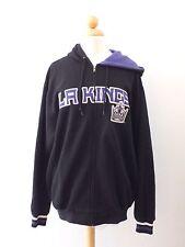 Los Angeles LA Kings NHL Hockey Zip Up Hoodie Jacket/Sweater - Size Medium