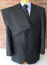 Jos A Bank Signature Gold Zegna Gray Suit 100% Wool Made in Mexico 39R 32W 28L