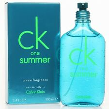 CK One Summer by Calvin Klein for Men & Women 3.4 oz  Eau de Toilette Spray New