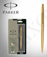 Parker Classic Gold GT (Gold trim) Fine Point Ball Pen - Blue Ink - New in Box