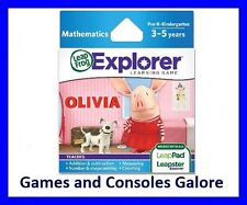 NEW! Olivia LeapPad, Leap Pad Game, Leapster Explorer GS, Leapfrog
