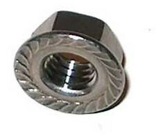 Stainless Steel Metric M3 Serrated Flange Nut 20 Pack