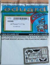 Eduard 1/72 ss566 zoom a colori Etch per Airfix JET PROVOST t3/t3a KIT