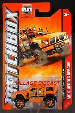 2013 Matchbox #84 Oshkosh® M-ATV MATTE ORANGE/MOC