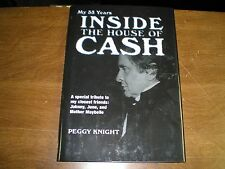 JohnnyCash June Carter Inside the House of Cash Peggy Knight NEW