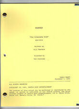 "SEINFELD show script ""The Alternate Side"""