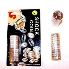 SHOCKING COIN STACKS money trick gag PRATICAL joke shock coins PRANK SHOCK NEW