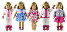 """5 Set Doll Clothes For 18""""American Girl Doll Handmade Casual Wear"""