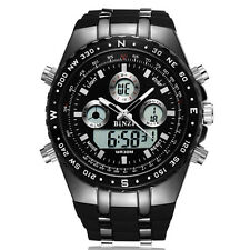 Sport Men's Watch Luxury Wrist Watch Black LED Fashion Digital Watch Waterproof