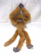 "24"" HANGING MONKEY STUFFED ANIMAL PLUSH WILD REPUBLIC VELCRO HANDS UGLY 1999 K&M"