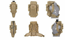 ZAINO BACKPACKS CECCHINO SNIPER TATTICO TRASPORTO COYOTE TAN CB SOFTAIR AIRSOFT